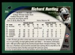 2002 Topps #244  Richard Huntley  Back Thumbnail