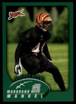 2002 Topps #378  Marquand Manuel  Front Thumbnail