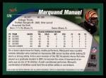 2002 Topps #378  Marquand Manuel  Back Thumbnail