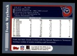 2003 Topps #22  Frank Wycheck  Back Thumbnail