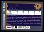 2003 Topps #125  Todd Heap  Back Thumbnail