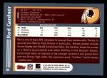 2003 Topps #86  Rod Gardner  Back Thumbnail