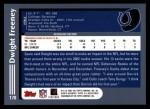 2003 Topps #178  Dwight Freeney  Back Thumbnail