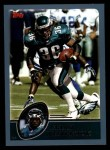 2003 Topps #116  Brian Westbrook  Front Thumbnail