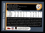 2003 Topps #69  Amos Zereoue  Back Thumbnail