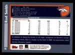 2003 Topps #95  Rod Smith  Back Thumbnail