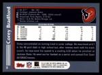 2003 Topps #9  Corey Bradford  Back Thumbnail