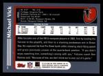 2003 Topps #1  Michael Vick  Back Thumbnail