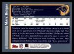 2003 Topps #157  Marc Bulger  Back Thumbnail