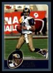 2003 Topps #157  Marc Bulger  Front Thumbnail