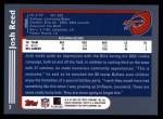 2003 Topps #3  Josh Reed  Back Thumbnail