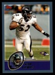 2003 Topps #265  Ray Lewis  Front Thumbnail