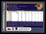 2003 Topps #265  Ray Lewis  Back Thumbnail