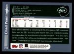 2003 Topps #215  Chad Pennington  Back Thumbnail