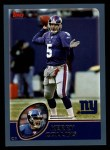 2003 Topps #248  Kerry Collins  Front Thumbnail