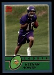 2003 Topps #312  Keenan Howry  Front Thumbnail