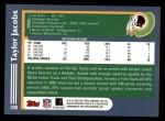 2003 Topps #340  Taylor Jacobs  Back Thumbnail