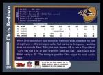 2003 Topps #243  Chris Redman  Back Thumbnail