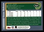 2003 Topps #361  Victor Hobson  Back Thumbnail