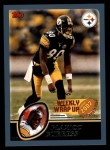 2003 Topps #300   -  Plaxico Burress Weekly Wrap-Up Front Thumbnail