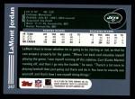 2003 Topps #247  LaMont Jordan  Back Thumbnail