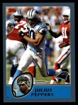 2003 Topps #283  Julius Peppers  Front Thumbnail