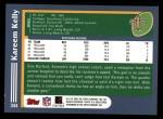 2003 Topps #344  Kareem Kelly  Back Thumbnail