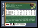 2003 Topps #350  Byron Leftwich  Back Thumbnail