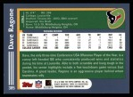 2003 Topps #385  Dave Ragone  Back Thumbnail
