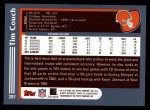 2003 Topps #287  Tim Couch  Back Thumbnail
