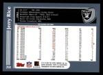 2003 Topps #250  Jerry Rice  Back Thumbnail