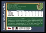 2003 Topps #379  Johnathan Sullivan  Back Thumbnail