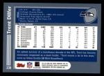 2003 Topps #239  Trent Dilfer  Back Thumbnail