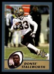 2003 Topps #267  Donte Stallworth  Front Thumbnail