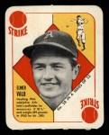 1951 Topps Red Back #28  Elmer Valo  Front Thumbnail