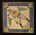 1914 B18 Blankets #54 WI Lefty Tyler   Front Thumbnail