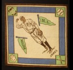 1914 B18 Blankets #50 WI Bill James   Front Thumbnail