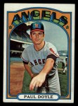 1972 Topps #629  Paul Doyle  Front Thumbnail