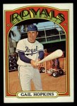 1972 Topps #728  Gail Hopkins  Front Thumbnail