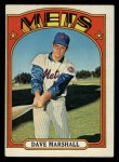 1972 Topps #673  Dave Marshall  Front Thumbnail