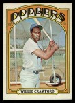 1972 Topps #669  Willie Crawford  Front Thumbnail