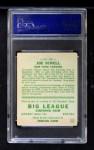 1933 Goudey #165  Joe Sewell  Back Thumbnail