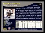 2001 Topps #66  Randall Godfrey  Back Thumbnail
