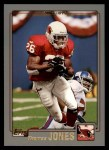 2001 Topps #135  Thomas Jones  Front Thumbnail