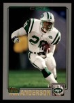 2001 Topps #124  Richie Anderson  Front Thumbnail