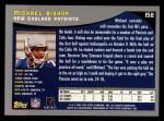 2001 Topps #158  Michael Bishop  Back Thumbnail