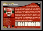 2001 Topps #153  Mike Cloud  Back Thumbnail
