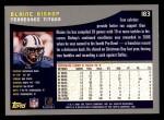 2001 Topps #183  Blaine Bishop  Back Thumbnail