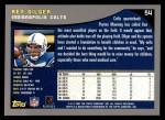 2001 Topps #54  Ken Dilger  Back Thumbnail