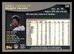 2001 Topps #138  Chris Chandler  Back Thumbnail